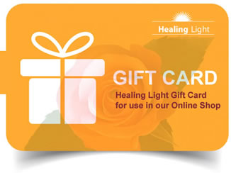 healing light Gift Cards home page image as a link