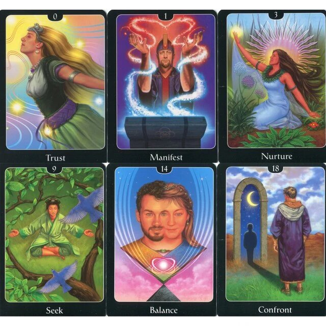 Healing Light Online Psychic Readings and Merchandise The Psychic Tarot for The Heart by John Holland
