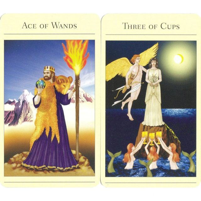 Healing Light Online Psychic Readings and Merchandise The New Mythic Tarot Deck