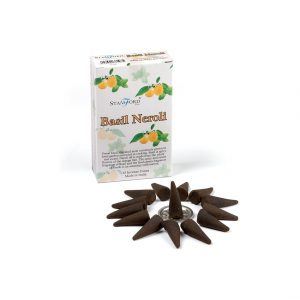Healing Light Stamford Cones Incense Basil and Neroli for sale online