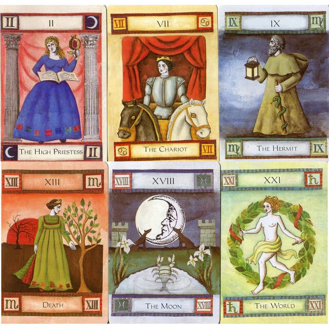 Healing Light Online Psychic Readings and Merchandise The Magic Of Tarot Set by Liz Dean