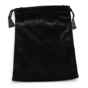 Healing Light Online Psychic Readings and Merchandise Black velvet tarot/oracle bag