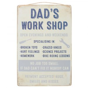 Healing Light Online Psychic Readings and Merchandise Dads Workshop Sign