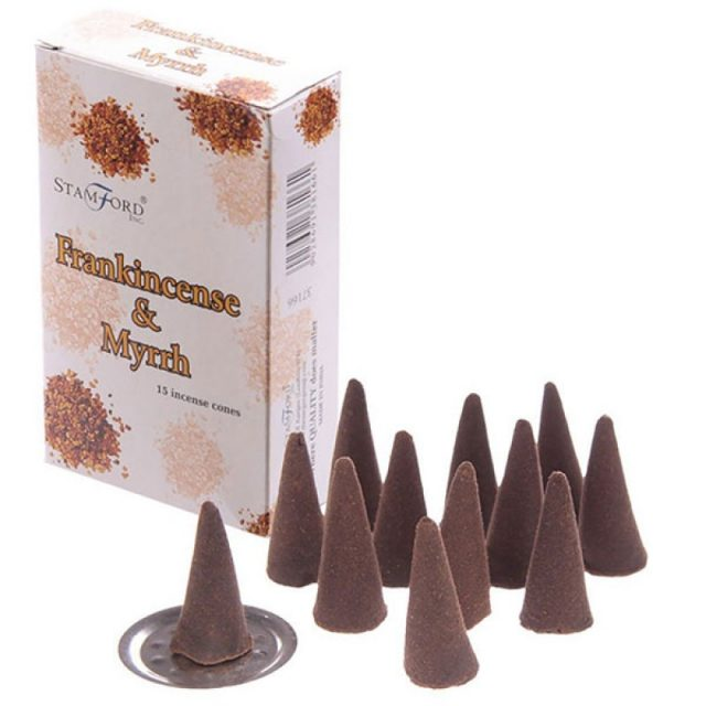 Healing Light Online Psychic Readings and Merchandise Frankincense and Myrr incense cones