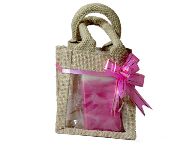 Healing Light Online Psychic Readings and Merchandise 4 soaps in jute bag