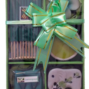 Healing Light Online Psychic Readings and Merchandise Green Lemongrass incense gift set
