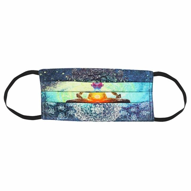 Healing Light Online Psychic Readings and Merchandise PPE Seven Chakras face covering