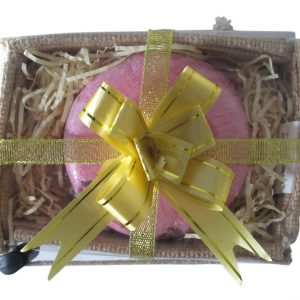 Healing Light Online Psychic Readings and Merchandise Romantic Bath Fizz in Jute Box