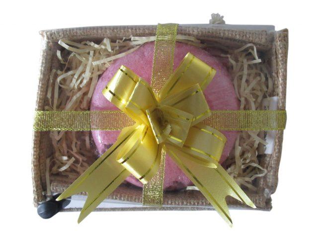 Healing Light Online Psychic Readings and Merchandise Romantic Bath Fizz in Jute Box