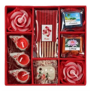 Healing Light Online Psychic Readings and Merchandise Red Eleohant Incense gift set