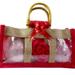 Healing Light Online Psychic Readings and Merchandise Christmas bath bomb and rose set
