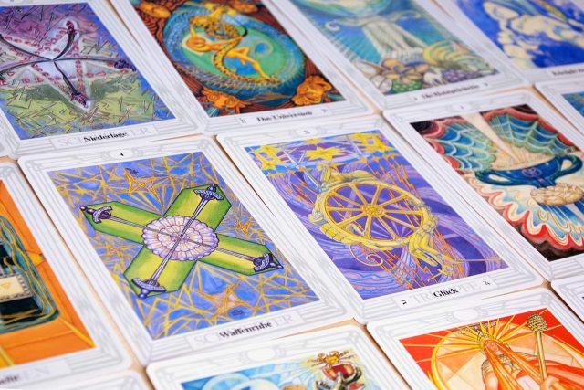 Healing Light Online Psychic Readings and Merchandise The Thoth Tarot Set by Aleister Crowley