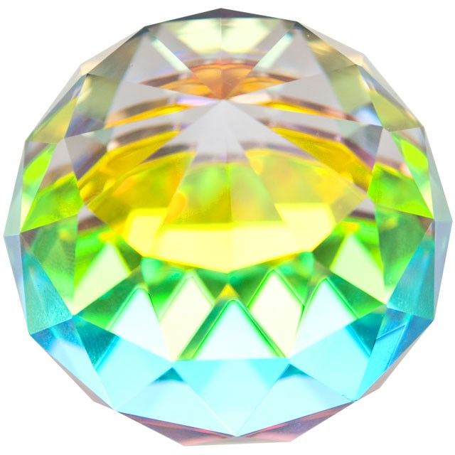 Healing Light Online Psychic Readings and Merchandise 4cm rainbow Crystal