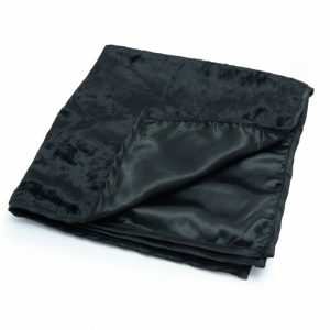 Healing Light Online Psychic Readings and Merchandise Black Satin Reading Cloth