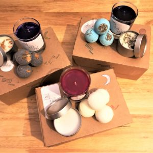 Healing Light Online Psychic Readings and Merchandise Gift Set Tripple Goddess Collection
