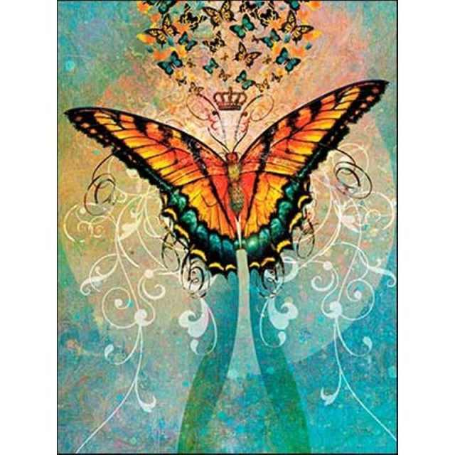 Healing Light Online Psychic Readings and Merchandise Butterfly crown Happy Birthday Greeting