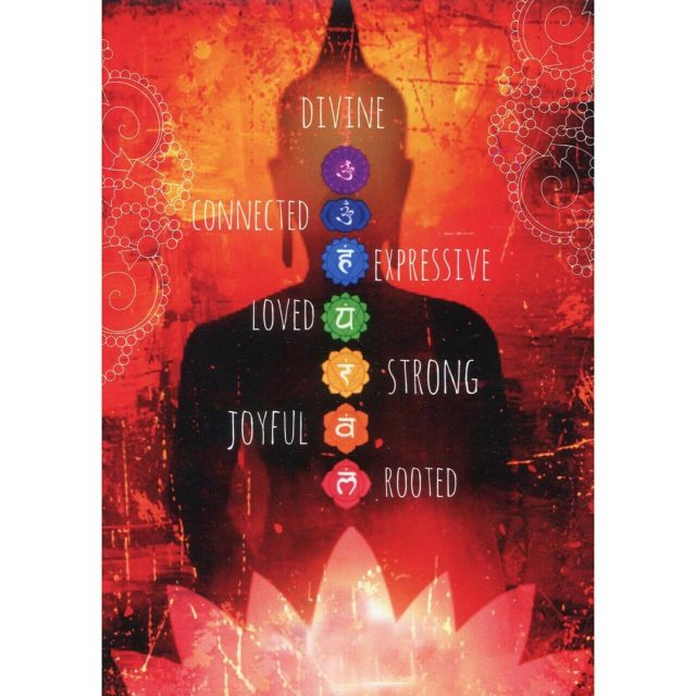 Healing Light Online Psychic Readings and Merchandise Divine,Connected,Strong Greeting card