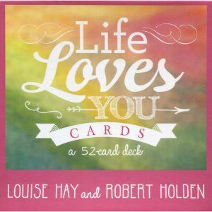 Healing Light Online Psychic Readings and Merchandise Life Loves You Oracle cards by Louise Hay
