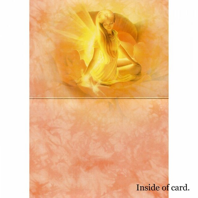 Healing Light Online Psychic Readings and Merchandise Night Light inside of card